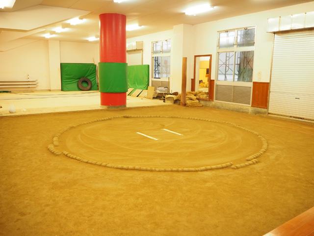 相撲練習場