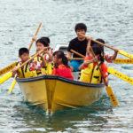 奄美伝統文化を体験しよう 舟こぎ体験とレース